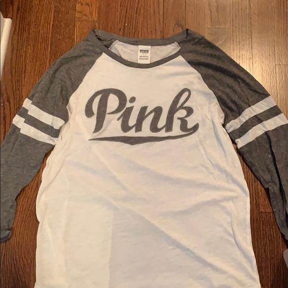 PINK Victoria's Secret Tops - PINK 3/4 Sleeve T-Shirt